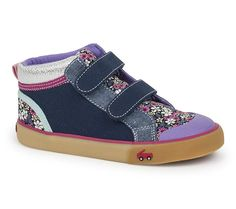 Kai Kya High Top Sneaker Blue Floral