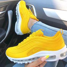 air max 97 femme jaune fluo