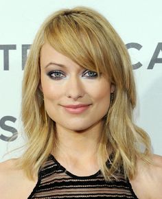 Olivia Wilde's New Blonde Shoulder-Length Wavy Haircut, nice, huh!