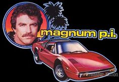 One man and a very big mustache: Tom Selleck as Magnum PI