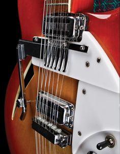 1967 Rickenbacker 366/12 Convertible, comb engaged. Premier Guitar
