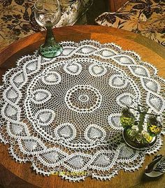 Home Decor Crochet Patterns Part 125 - Beautiful Crochet Patterns and Knitting Patterns Filet Crochet, Art Au Crochet, Beau Crochet, Thread Crochet, Crochet Stitches, Crochet Towel, Crochet Dollies, Crochet Doily Patterns, Crochet Flowers