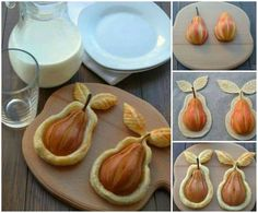 Pear in philo pastry