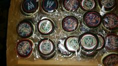 WWE Cookies by cakecraze #treysparty