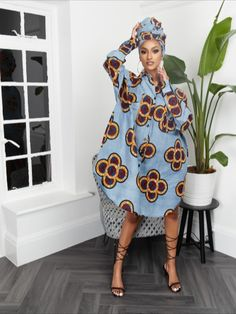 A classic, feminine style with an African-inspired, fashion-forward edge, the African print shirt dress is the perfect versatile piece for your wardrobe.  African Print Shirt, African Print Clothing, African Print Dresses, African Dress, African Prints, African Beauty, African Fashion, African Style, Fashion Lookbook