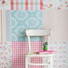 Mural Patchwork Girls Digital Wall Mural This is a very pretty patchwork quilt style mural in shades of pink & blue. This beautiful mural would be perfect for a nursery or girls room. Wallpaper Stencil, Kitchen Wallpaper, Wall Wallpaper, Pastel Wallpaper, Kids Wallpaper, Girl Room, Girls Bedroom, Kids Wall Murals, Cubby Houses