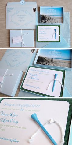 LINDSEY!  golf AND the beach in the same save the date, you could probably use the same thing for the invitations.