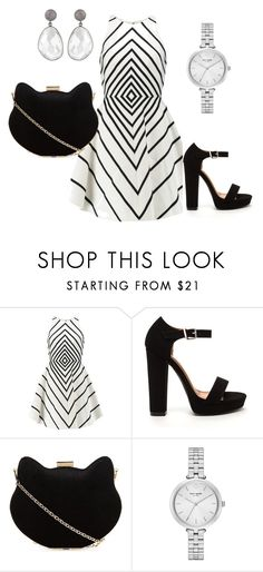 """Bez naslova #1"" by ivanaaura ❤ liked on Polyvore featuring Halston Heritage, New Look and Kate Spade"