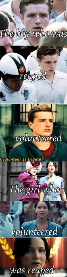 Peeta is soooooo sweet omogosh! Sometimes I just wish books were real tho you know what I'm sayin! Wish Peeta was my boyfriend lol. Divergent Hunger Games, Hunger Games Memes, Hunger Games Cast, Hunger Games Fandom, Hunger Games Catching Fire, Hunger Games Trilogy, Percy Jackson, Katniss And Peeta, Katniss Everdeen