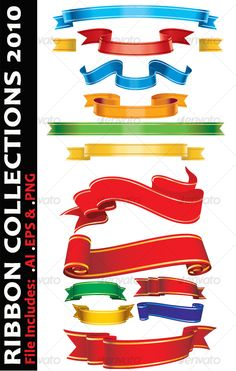 Ribbon Collections 2010 $4.00 #vector