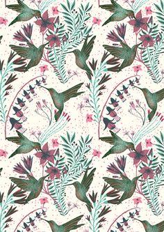 16 Ideas bird design pattern illustrations for 2019 Bird Patterns, Textile Patterns, Print Patterns, Textiles, Pattern Paper, Pattern Art, Pattern Design, Paper Scrapbook, Photocollage