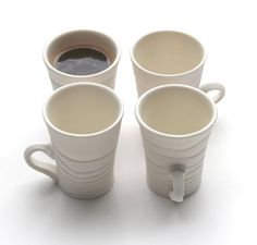 An espresso cup SET that will make morning coffee-time very special. They would make a unique gift for a friend or family member, especially as a
