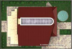 Casa cu etaj 10   Proiecte de case personalizate   Arhitect Gabriel Georgescu & Echipa Architectural House Plans, Kerala House Design, Kerala Houses, Design Case, Outdoor Furniture, Outdoor Decor, Outdoor Storage, Construction, Home Decor