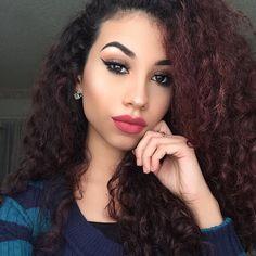 ___________________________________________________________ #mua #makeup #makeupaddict #makeupartist #makeupjunkie #makeupslaves #wakeupandmakeup #melformakeup #universodamaquiagem_oficial #chrisspy #vegas_nay #hudabeauty #curl #curly #curlyhair #curlybeauties #curlyhairkillas #curlyhairdontcare #curlyhairproblems #embraceyourcurls #berrycurly #naturalhair #contour by briciaemilyn