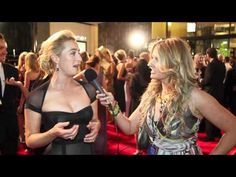 ASHER KEDDIE chats about playing ITA BUTTROSE in PAPER GIANTS at the TV WEEK LOGIES 2011..love this woman!