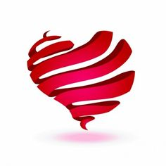 15 Most Unique Heart Shaped Template Images for Valentines Day