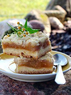 Apfelkuchen mit Honig und Zimt Streusel