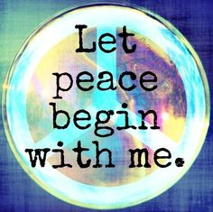Inner peace sounds like an impossible dream. A commitment to self-compassion can get us moving in the right direction. Gandhi, Om Mantra, Rainbow Family, Inner Peace Quotes, Om Shanti Om, Pursuit Of Happiness, Self Compassion, Mind Body Spirit, Peace