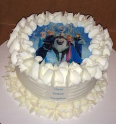 Disney Frozen Cake by Carrie's Cakery
