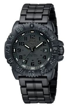 Luminox Navy SEAL Colormark Series Watch for Men - Blackout