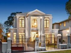 Photo of a wrought iron house exterior from real Australian home - House Facade photo 8938037
