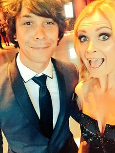 Bob Morley and Eliza Jane Taylor || The 100 cast || Bellarke || Bellamy Blake and Clarke Griffin