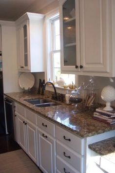 What Colour Countertops On White Kitchen Cabinets Pip