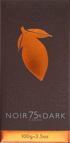 Chocolat Stella Organic Noir 75%