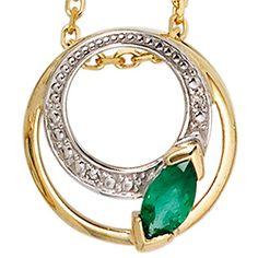 Dreambase Damen-Anhänger teilrhodiniert mit einem Smaragd... https://www.amazon.de/dp/B00EYH0EC4/?m=A37R2BYHN7XPNV