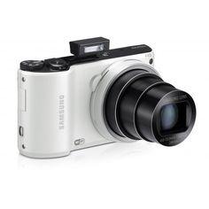 Samsung WB200F Digital Smart Camera Wi-Fi Touchscreen Panorama HD Video 14.2MP 18x Optical Zoom (White) – Factory Refurbished