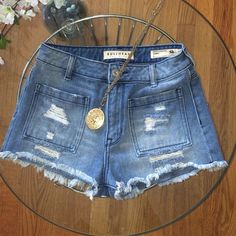 Bullhead - High Waisted Distressed/ Cutoffs Like New- worn once. They have all of the cool Jean shorts criteria you could want! Bullhead Shorts Jean Shorts