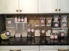 Simple Dimples: Organization Labels