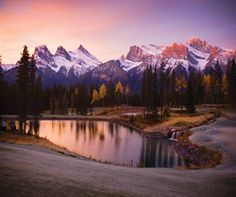 Photograph of the week: A frosty morning in the Canadian Rockies http://www.aluxurytravelblog.com/2014/01/01/photograph-of-the-week-a-frosty-morning-in-the-canadian-rockies/