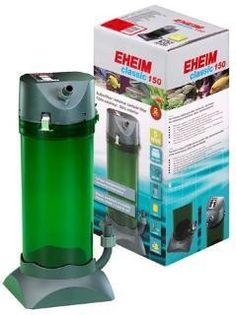 EHEIM Classic 150 Canister Filter 2211. Classic series canister filters have the longest most reliable track record in the trade. A pump/motor unit that seems to run forever with a minimum of service. Proven technology, balanced performance, and high efficiency mark classic series filters as the bellweather in aquarium filtration. One chamber design allows for the greatest flex in setting up for mechanical, biological, chemical and adsorptive filtration. Flow rates have been precisely...