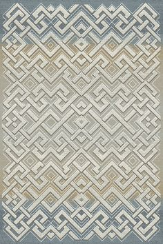 Royal Treasure Gray/Beige Area Rug