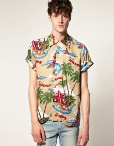 Imprimés : chemise hawaïenne Karmakula