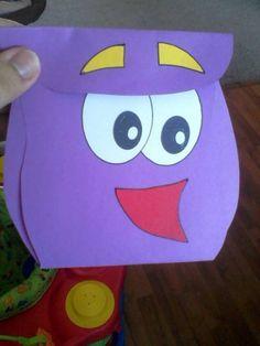 Sofia's 3rd Birthday Invites!!! Dora Back Pack!!!