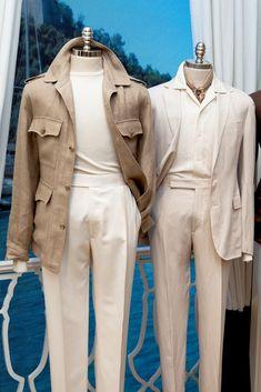 Suit Stores, Preppy Mens Fashion, Safari Jacket, Ralph Lauren Style, Summer Suits, Well Dressed Men, Gentleman Style, Men Dress, Menswear