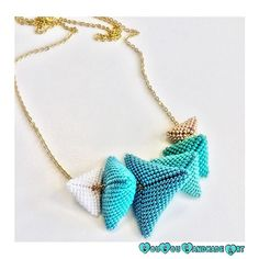 NEW ENTRY Puffy triangular pillows necklace will soon be added in #sousouhandmadeart #etsyshop  Stay tuned! www.sousouhandmadeart.com  {linkinbio}  . . . . . #greekdesigner #finebeadwork #bestqualitybeads #handcraftedingreece #seedbeadnecklace #statementnecklace #turquoisehues #puffytriangularpillows #luxuriousjewelry #theartofmaking #lovebeading #lovehandmadejewelry #perlesandco