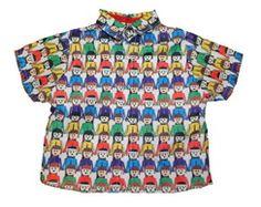 Camisa  Menino Playmobil