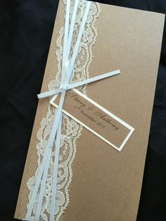 Gorgeous pocket invite front