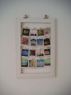 my first vintage photo frame - diy