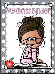 Enjoy this little Classroom Binder Freebie as well as a two different styles of a classroom list to get you started!  The packet contains a blank for editing or a copy already labeled.MicheleCheck out the complete packet here!