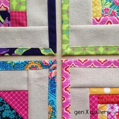 Gen X Quilters - Quilt Inspiration | Quilting Tutorials & Patterns | Connect: Patchwork Napkins Pattern