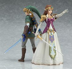 Pre-Order Release Date: June 2017 The Princess of Hyrule joins the figma series! From the popular game 'The Legend of Zelda: Twilight Princess' comes a figma of Zelda! - Using the smooth yet posable j