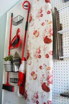 10 Small Laundry Room Organization Ideas - Storage Tips for Laundry Closets Decor, Room Makeover, Room, Room Organization, Craft Storage Ideas For Small Spaces, Laundry Room Makeover, Small Storage, Room Storage Diy, Vintage Laundry Room