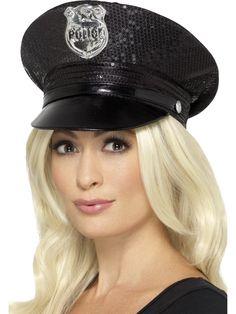 Poliisin hattu, musta