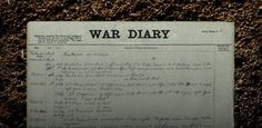 Citizen Science - Operation War Diary - help annotate and tag diaries from the First World War at Zooniverse.org