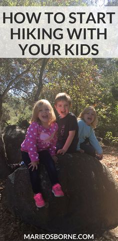 AD: Ever thought about hiking with your kids, but didn't know exactly how to start? Here are a few tips from a non-outdoorsy person like you! Hiking With Kids, Strong Family, Hobbies, Camping, Activities, Thoughts, Children, Tips, Campsite