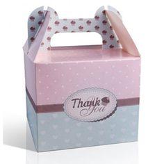 Gastgeschenk Cupcake-Box